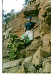 rock climbing,