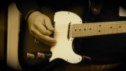 Playing my guitar