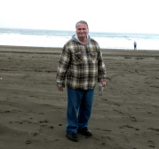 At the Pacific Ocean