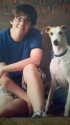 My lovely dog and I
