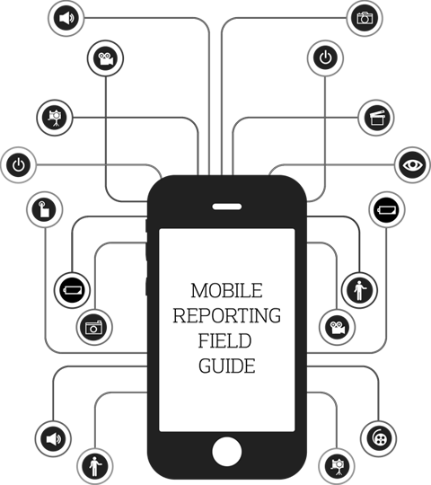 Mobile Reporting Field Guide Logo