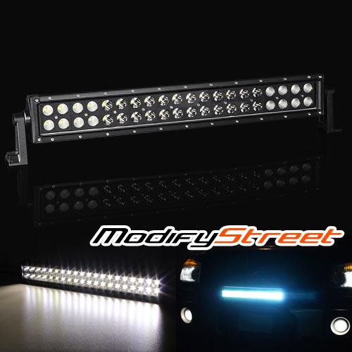 "9600LM 120W 21.5"" OFFROAD BLACK CREE LED LIGHT BAR WORK LAMP 4x4/JEEP/ATV/UTV"
