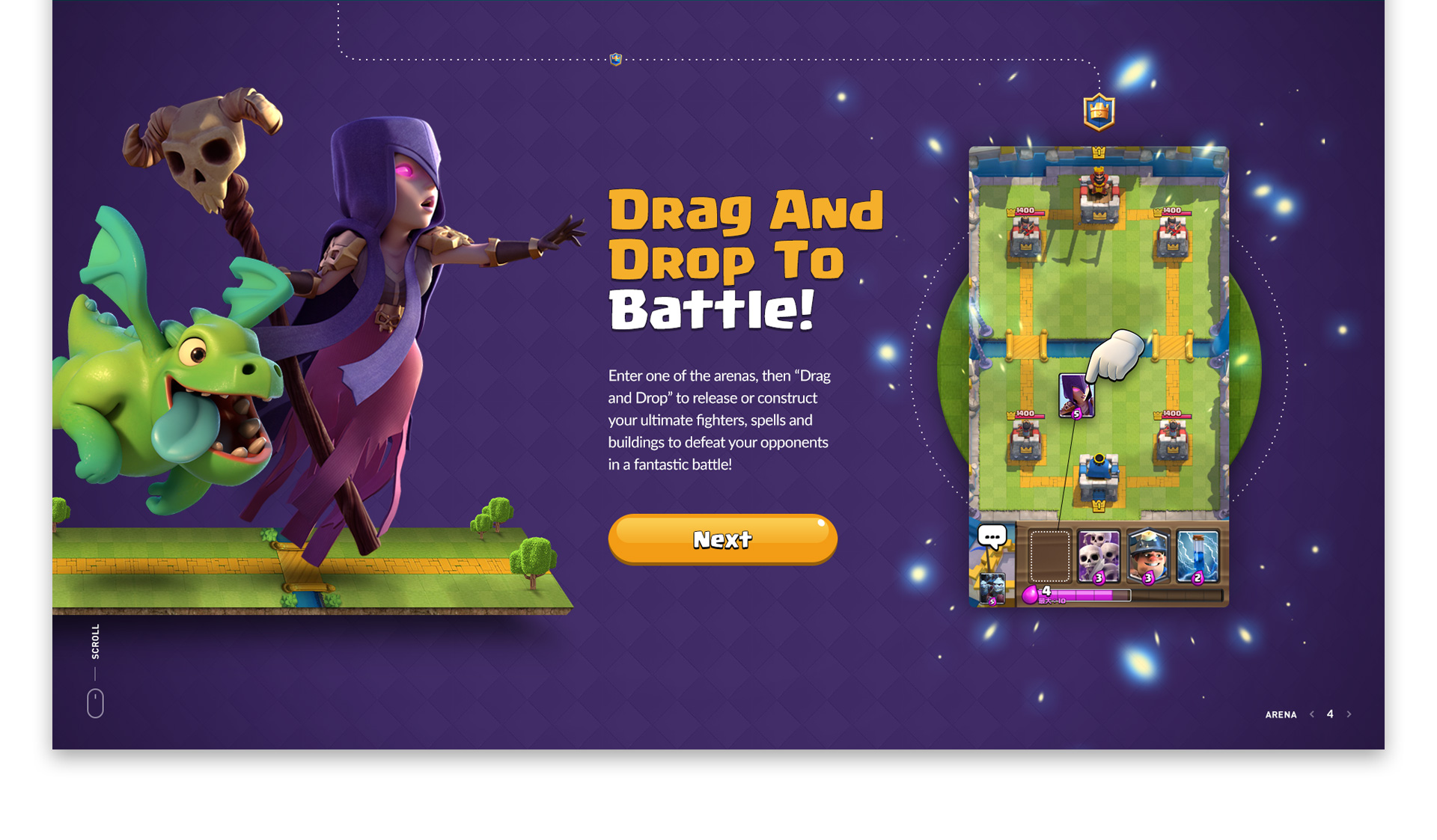 Clash Royale Website