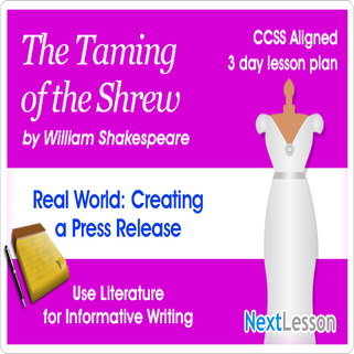 The Taming of the Shrew Press Release