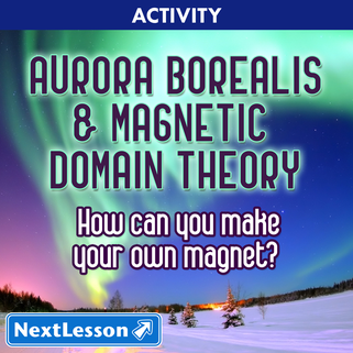 Aurora Borealis & Magnetic Domain Theory