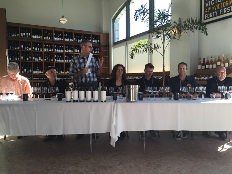 This is the panel that presented on the Lodi Native wine project. Spearheading discussion is Elaine Brown (center) of Hawk Wakawaka Wine Reviews, a marvelous writer with attention to detail like its nobody else's business, surrounded by some critical Lodi winemakers, and all members of the Lodi Native project. Look it up.