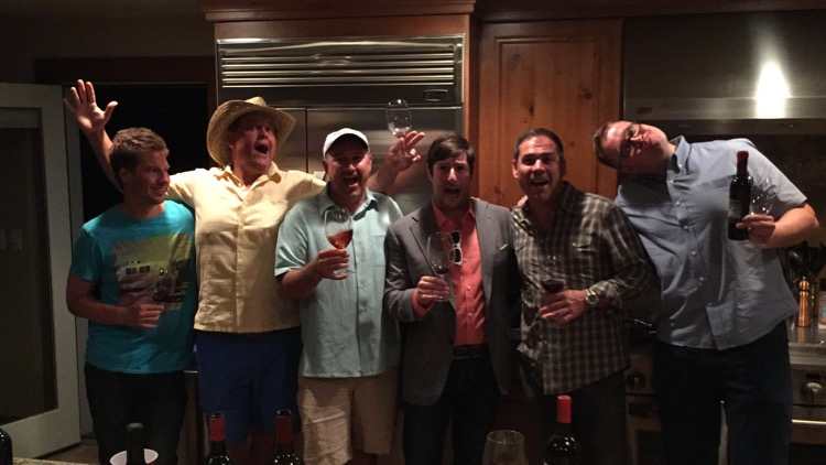 This is what happens when awesome winemakers from Walla Walla party.