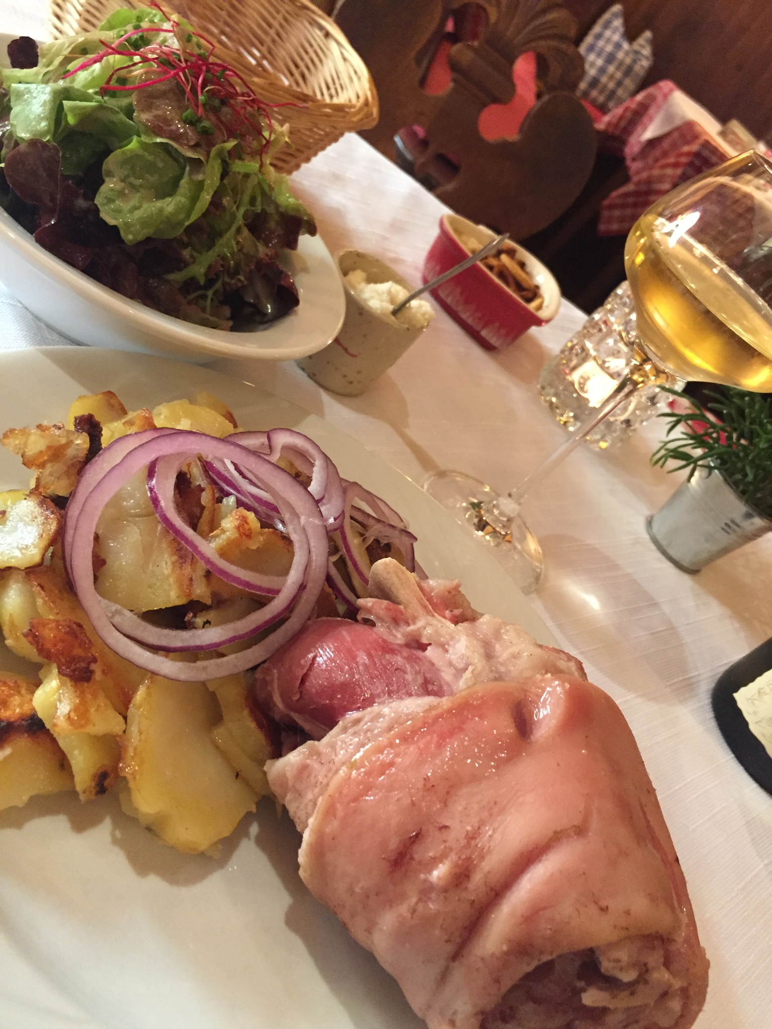 Alsace dining. Photo by Shelley Cartland.