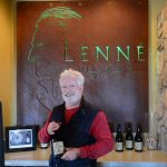 Ladies and Gents: Rob Hangauer -- Rob treated us to a tasting of Lenne Estates dazzling lineup of Pinots from Pommard Clones, Clone 114, 115, and many others.