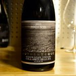 """Our primary reason for visiting Willamette Valley was to """"eat dirt"""" an experiential dinner concept by Nicholas Keeler, Authentique Wines and performance artists Betsy Hinze. This 2011 Eola-Amity Hills Pinot was one highlight out of many from Authentique."""