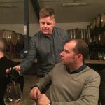 Winemaker Nichola Keeler, Authentique, pouring for Josh Phelps, Taken Wine Co.