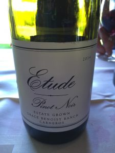 Really stellar sweet and ripe juicy red berry and strawberry fruit and a dazzling acidity and minerality.