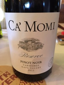 Tart red cherry fruit and quite refreshing. Pretty integrated cedar notes.