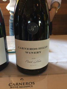 Eric Johansen, formerly the Buena Vista production site winemaker, churns out this Pinot rich with raspberry and cherry flavors, toasty oak; very soft mouthfeel but good acid for sure. Pretty purple floral notes on the finish.