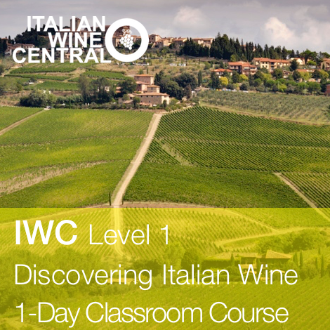IWC Level 1 Discovering Italian Wine