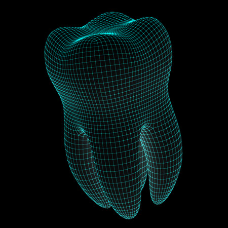 3D image of tooth
