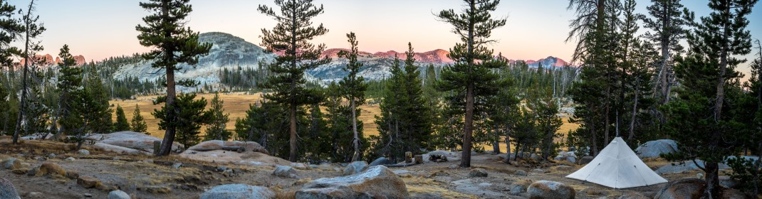 Sunrise Camp | John Muir Trail Honeymoon