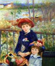 Two Sisters (On the Terrace), 1881 - 20