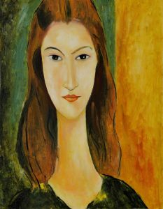 Portrait of Jeanne Hebuterne (Affordable Line) - 20
