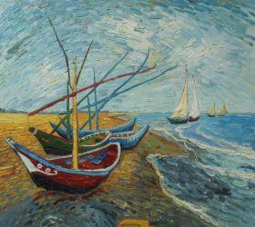 Fishing Boats on the Beach at Saintes-Maries - 24