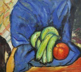 Still Life with Pomegranate and Bananas - 24