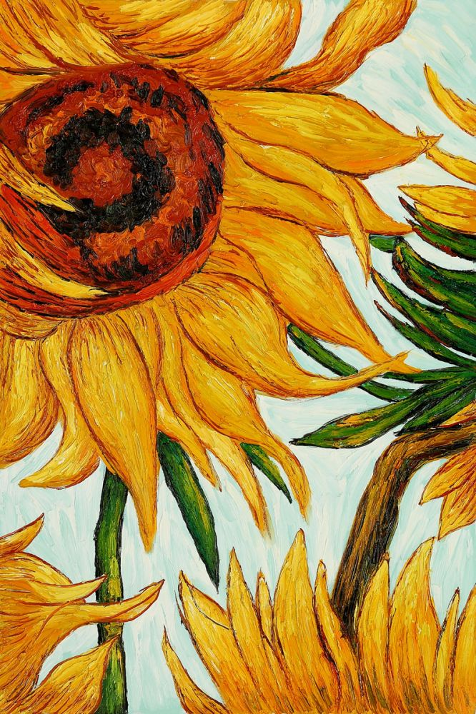 Sunflowers (detail)