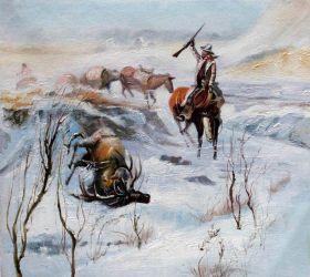 Christmas Dinner for the Men on the Trail - 24