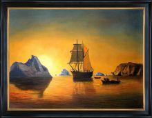 Arctic Scene Pre-Framed - 40