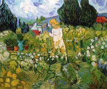 Mademoiselle Gachet in her garden at Auvers sur oise - 24