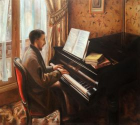 Young Man Playing the Piano - 24