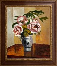 Bouquet of Pink Peonies Pre-Framed - 20
