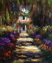 Garden Path at Giverny - 20