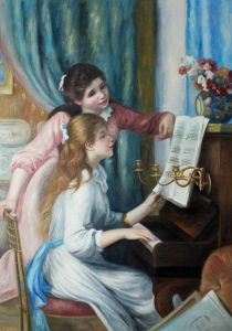 Young Girls at the Piano - 30