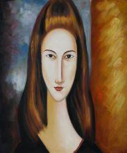 Portrait of Jeanne Hebuterne - 20