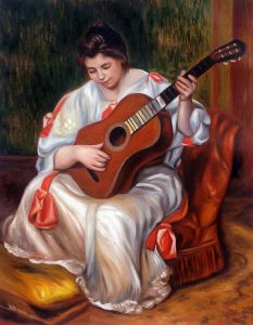 Woman Playing the Guitar, 1896 - 20