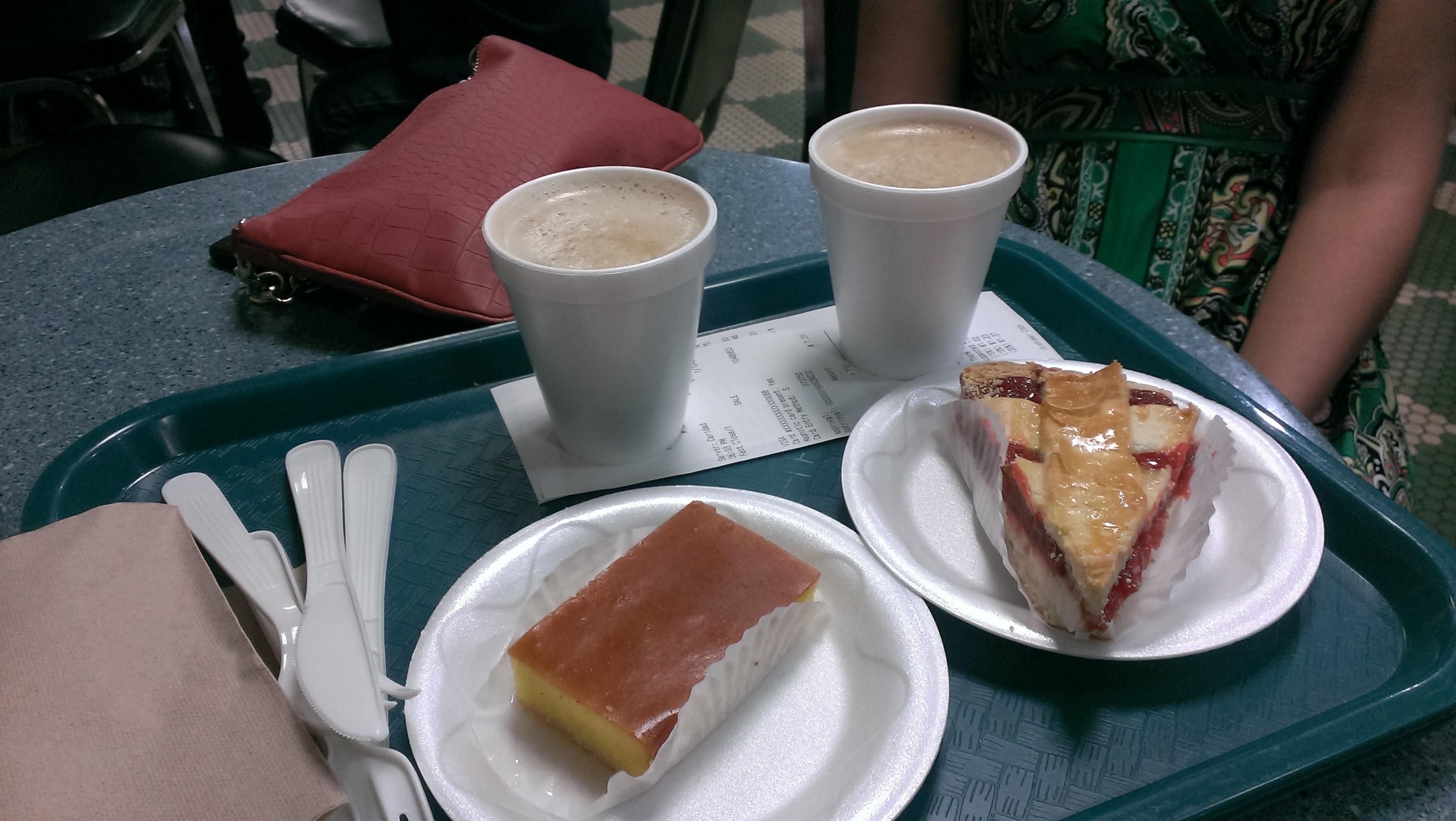 Cafe versailles food