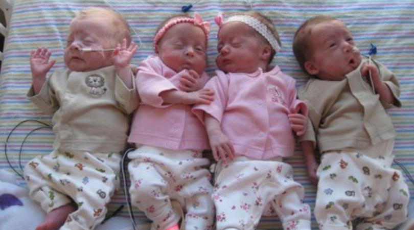 cox family quadruplets