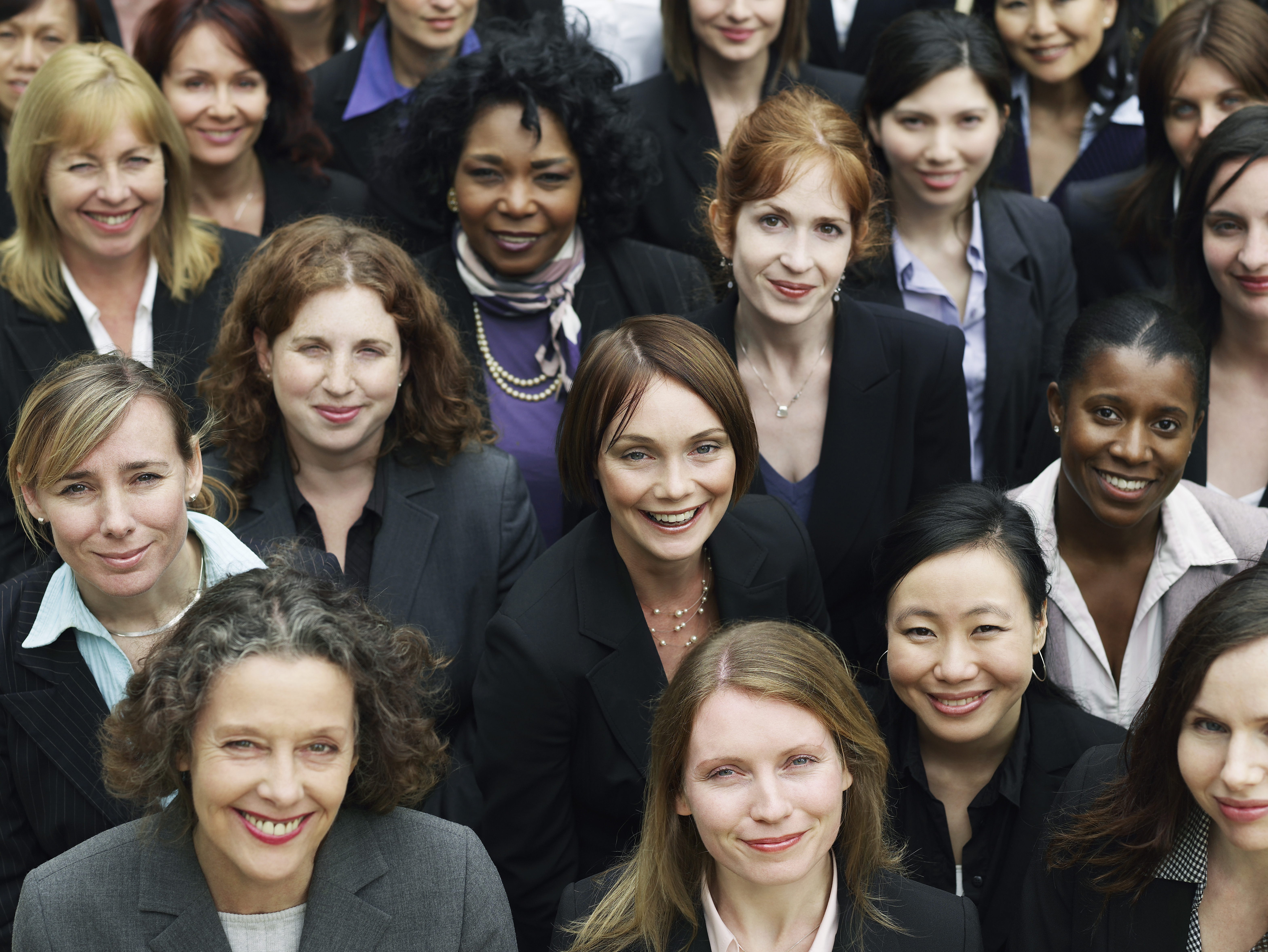 multiethnic business women
