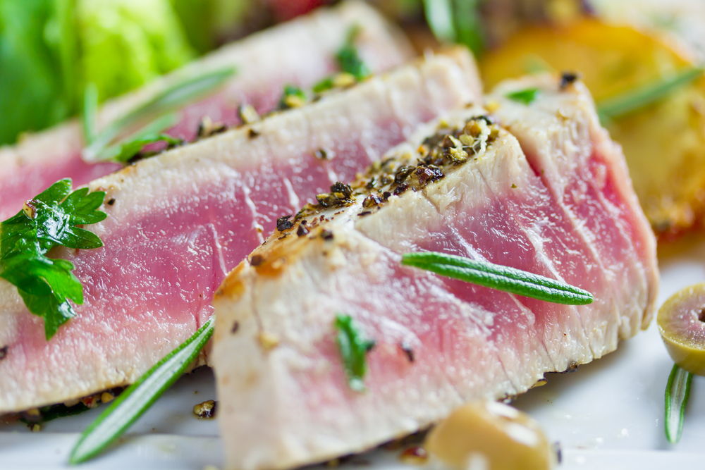 Recipe marinated grilled tuna