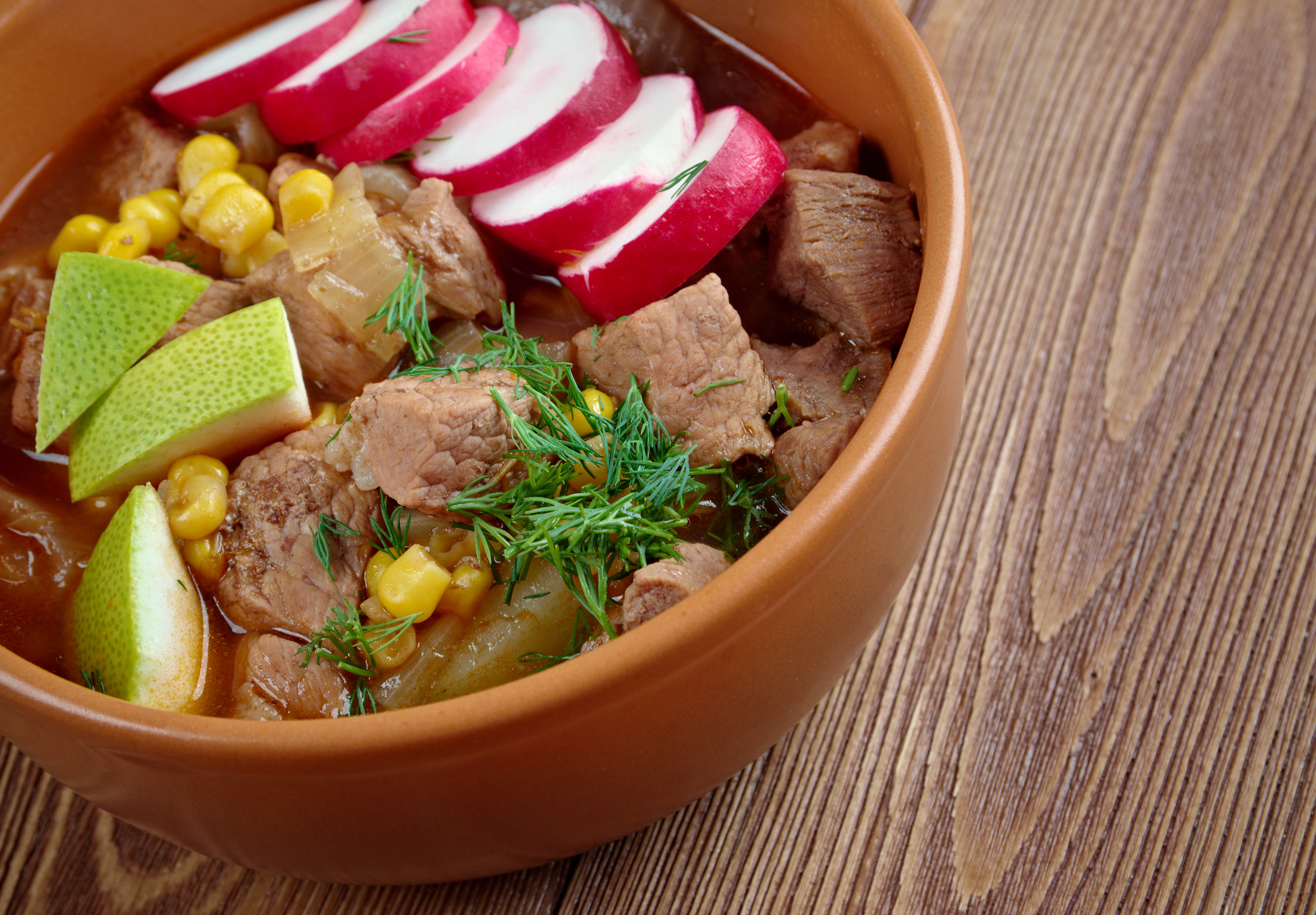 mexican dish food pozole