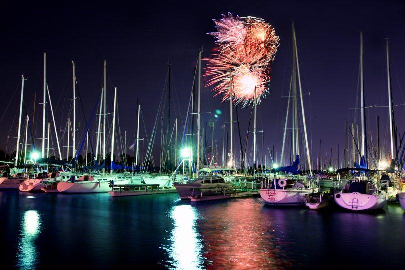 Lake Fireworks Grapevine Tx lakes boating local summer fun