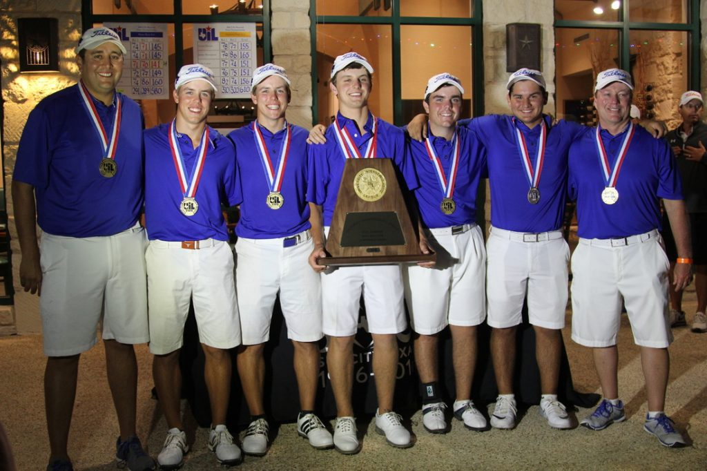 Texas State golf champions Plano West