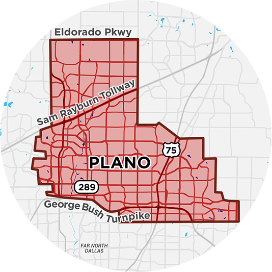 klink delivery alcohol map in collin county
