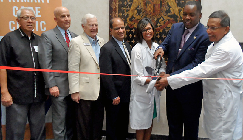 Primary Care Clinic Ribbon Cutting