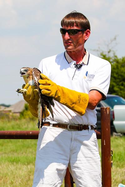 Erich Neupert, Executive Director Blackland Prairie Raptor Center