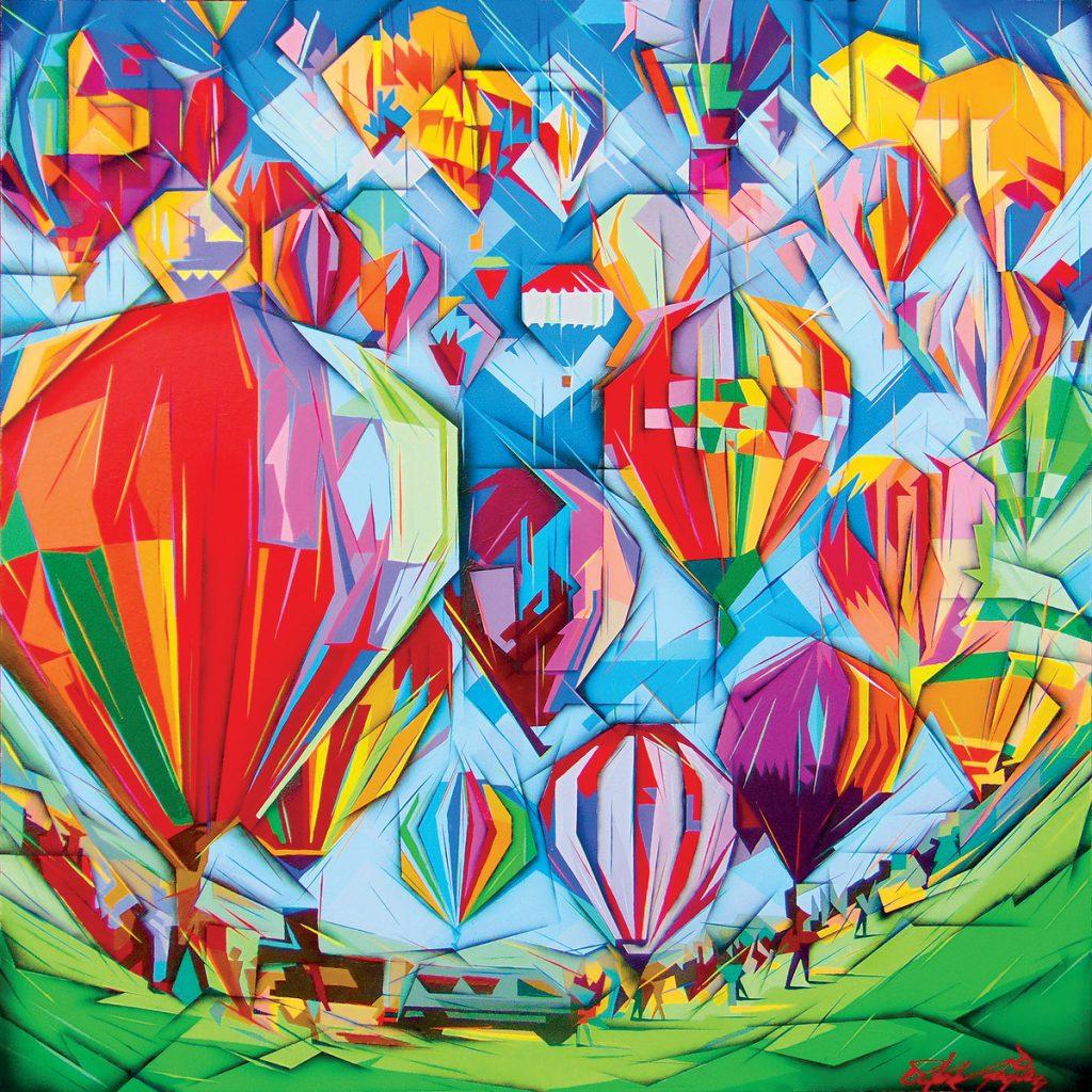 Steve Uriegas, art, artist, Plano, Texas