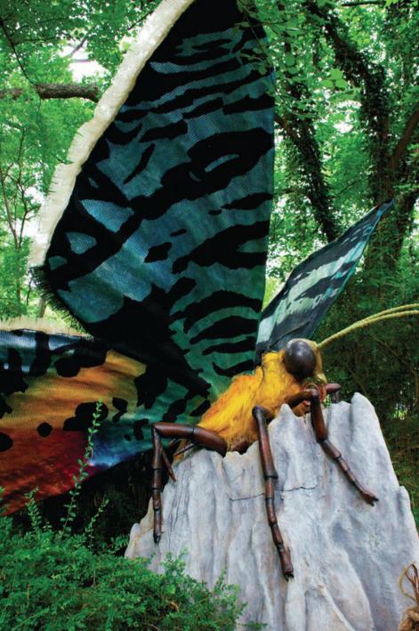 Madagasgar Moth Billings Productions Allen Texas animatronics