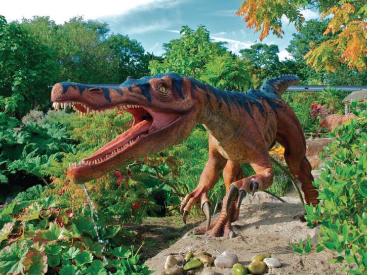 Dinosaur animatronics Billings Productions, Plano Texas