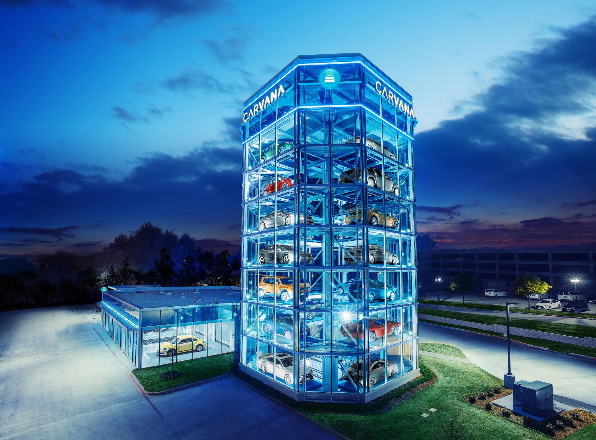 Car Vending Machine Opens In Frisco Plano Profile