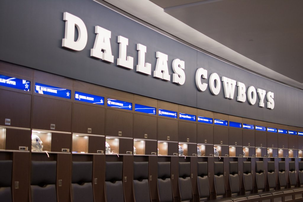 Dallas Cowboys Locker Room Quote